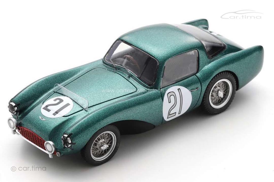Aston Martin DB3 S 24h Le Mans 1954 Whitehead/Stewart Spark 1:43 S2436
