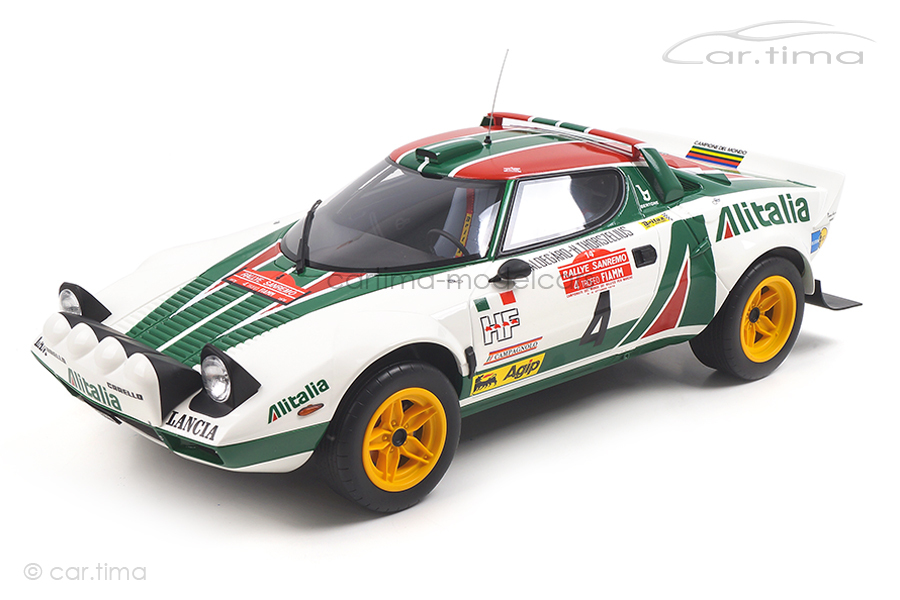 Lancia Stratos Gr. 4 Rallye San Remo OttOmobile 1:12 G037