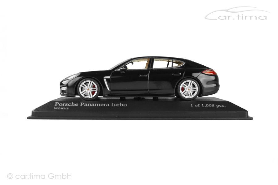 Porsche Panamera Turbo (970.1) 2010 schwarz Minichamps 1:43 400068271