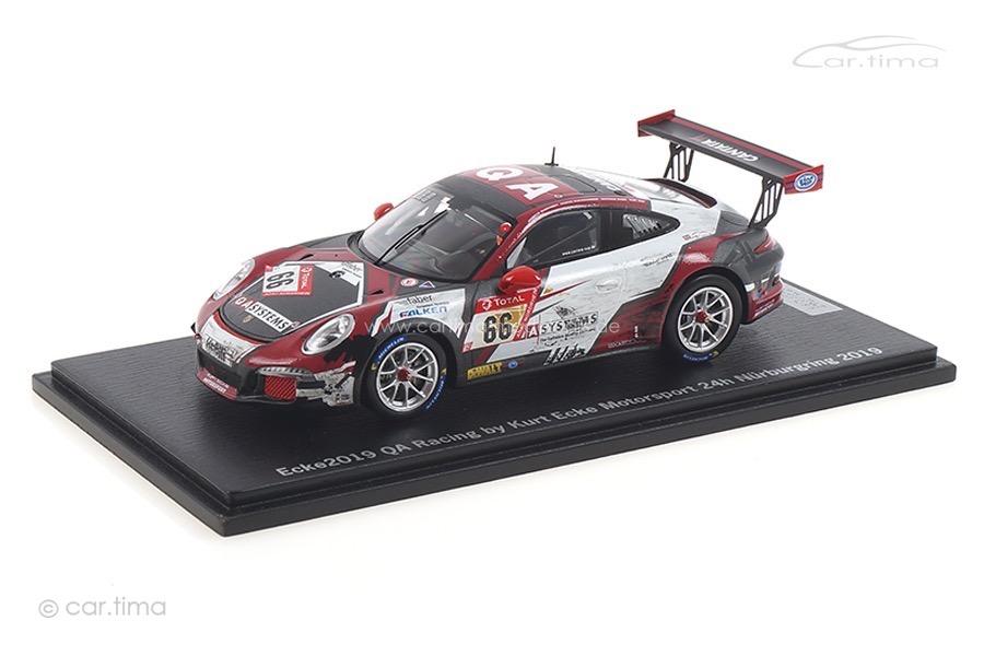Porsche 911 (991) GT3 Cup 24h Nürburgring 2019 Ecke Motorsport Spark 1:43 ECKE2019