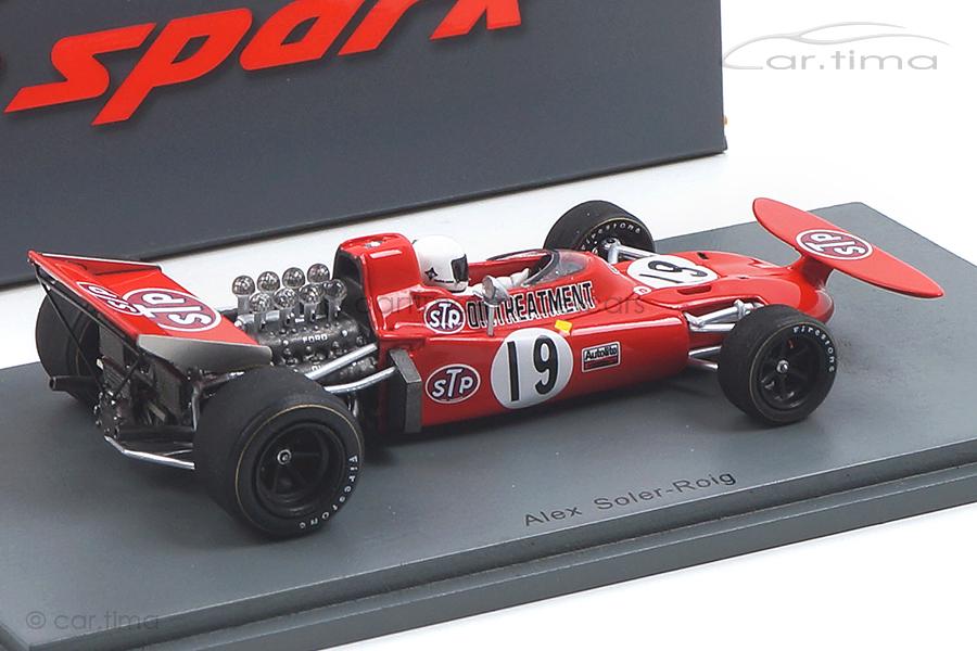 March 711 GP Spanien 1971 Alex Soler-Roig Spark 1:43 S7160