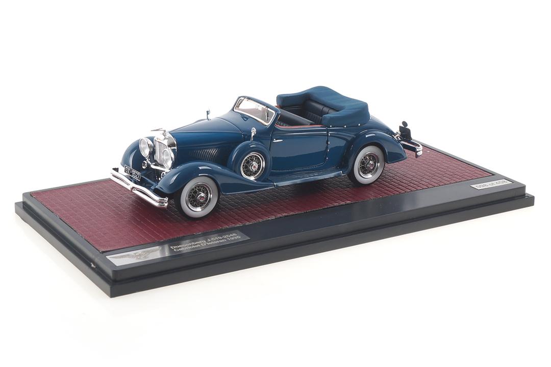 Duesenberg J-519-2548 Cabriolet D´Ieteren blau Matrix 1:43 MX40406-081