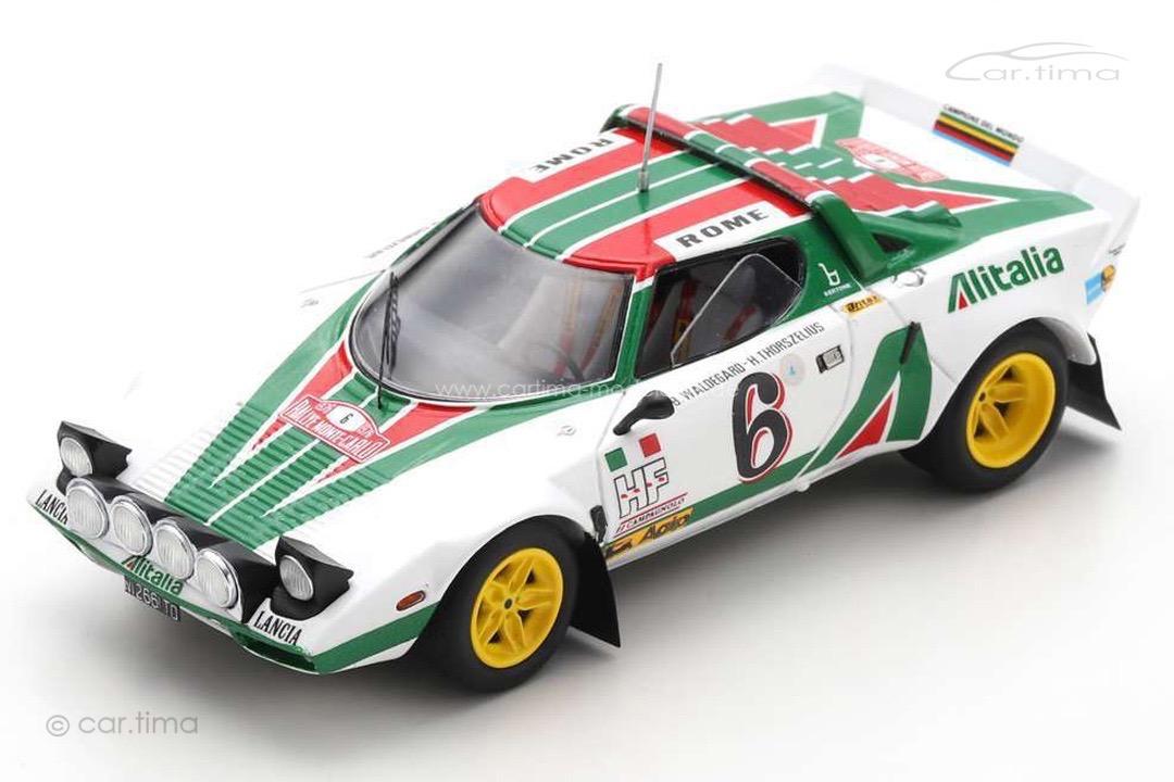 Lancia Stratos HF Rally Monte Carlo 1976 Waldegard/Thorszelius Spark 1:43 S9083