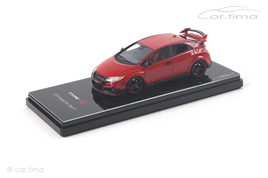 Honda Civic Type R Milano Red Solid TSM 1:43 TSM164391