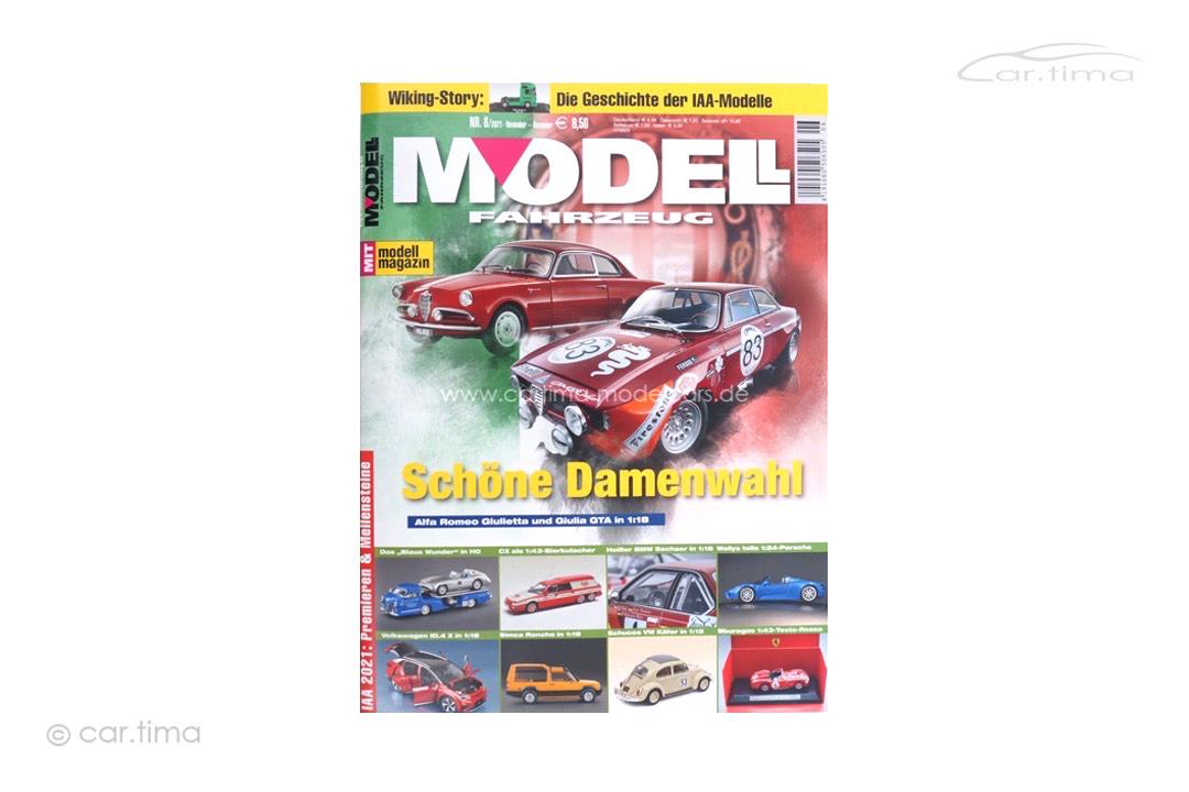 Zeitschrift/Magazine Modell Fahrzeug 6/2021 Delius Klasing Verlag