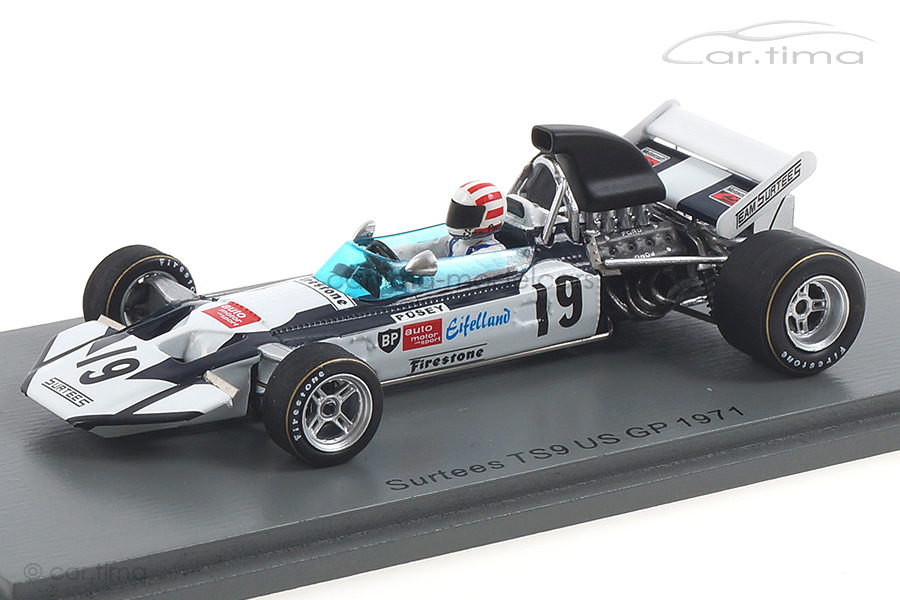 Surtees TS9 GP USA 1971 Sam Posey Spark 1:43 S4016