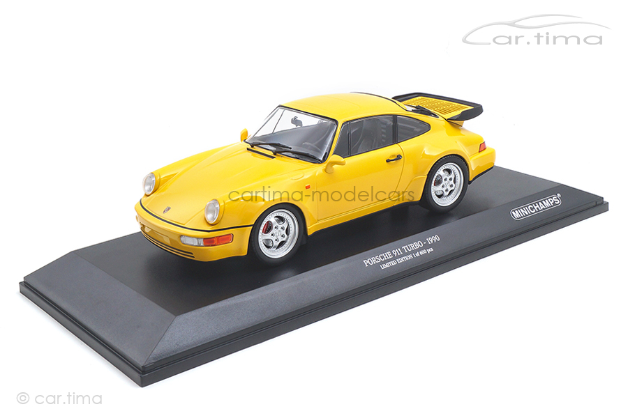 Porsche 911 (964) Turbo speedgelb Minichamps 1:18 155069100