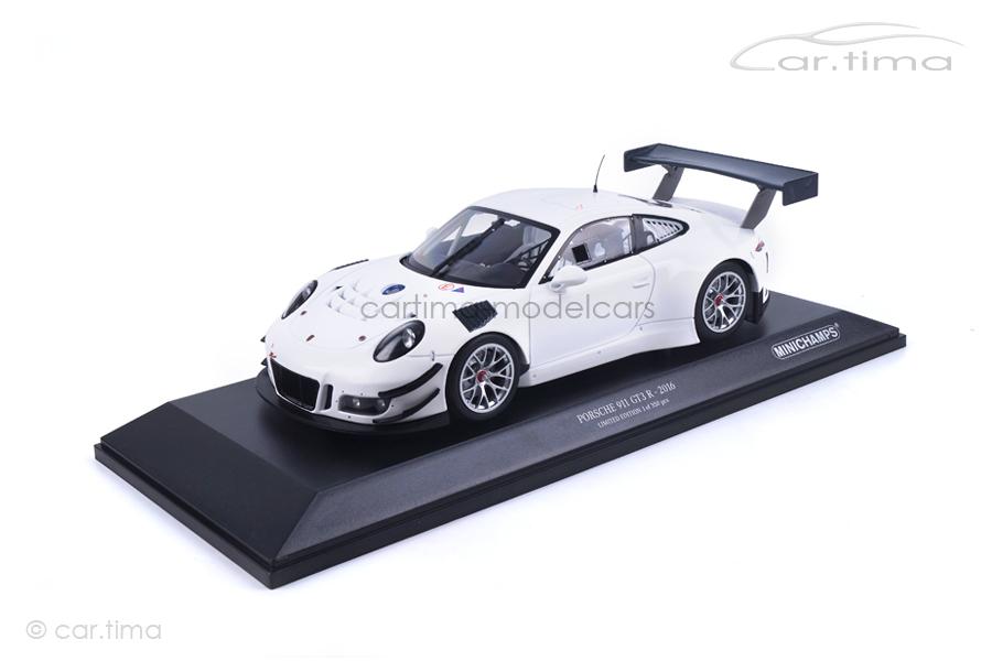 Porsche 911 (991) GT3 R Plain Body Version weiß Minichamps 1:18 153166000