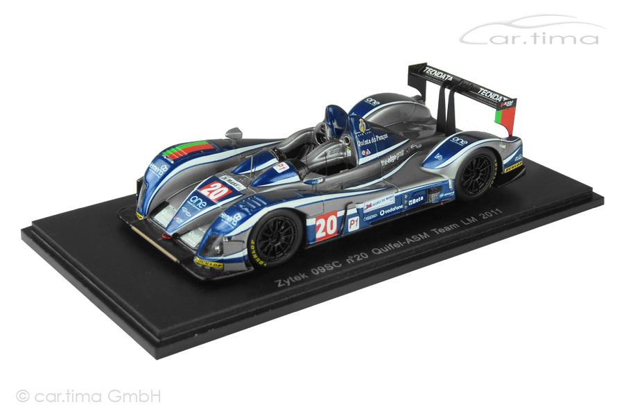 Zytek 09SC 24h Le Mans 2011 Amaral/Pla/Hughes Spark 1:43 S2532