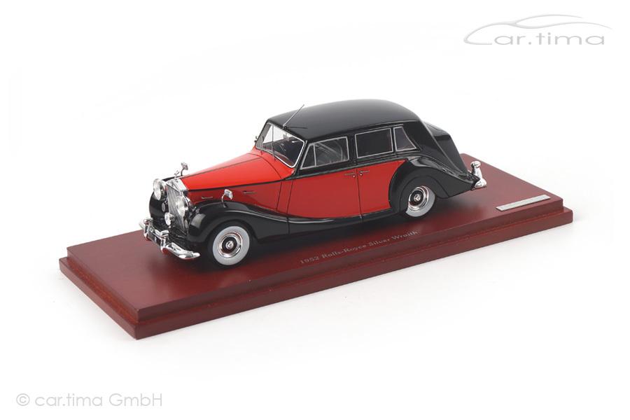 Rolls-Royce Silver Wraith 1952 schwarz/rot TSM 1:43 TSM134347