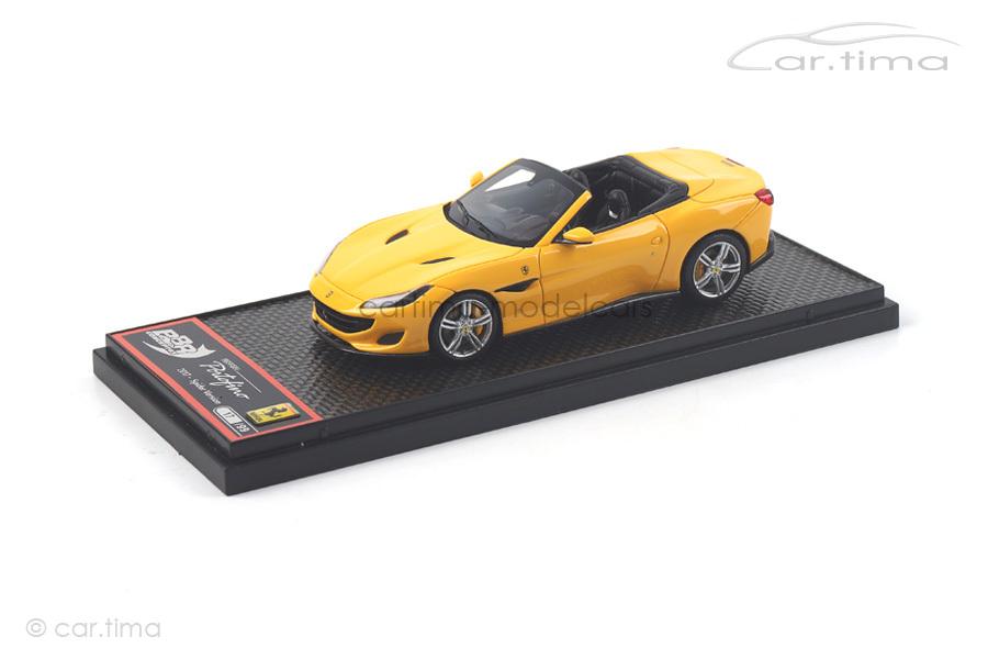 Ferrari Portofino Giallo Modena BBR 1:43 BBRC207C