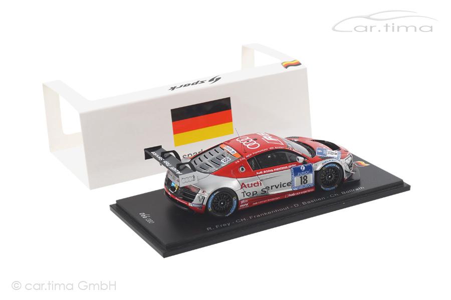 Audi R8 LMS Ultra 24h Nürburgring 2014 Frey/Bastien/Bollrath Spark 1:43 SG141
