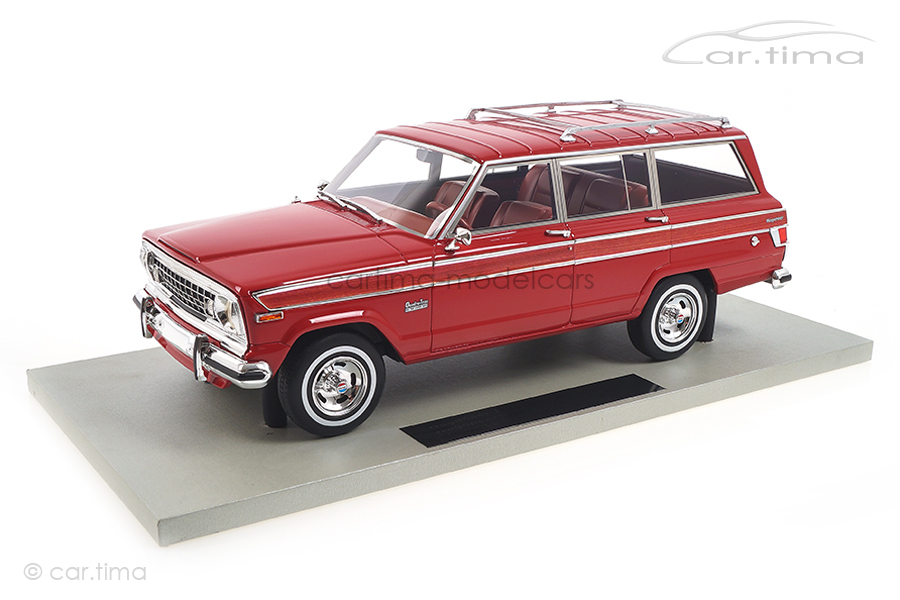 Jeep Grand Wagoneer rot LS Collectibles 1:18 LS037H