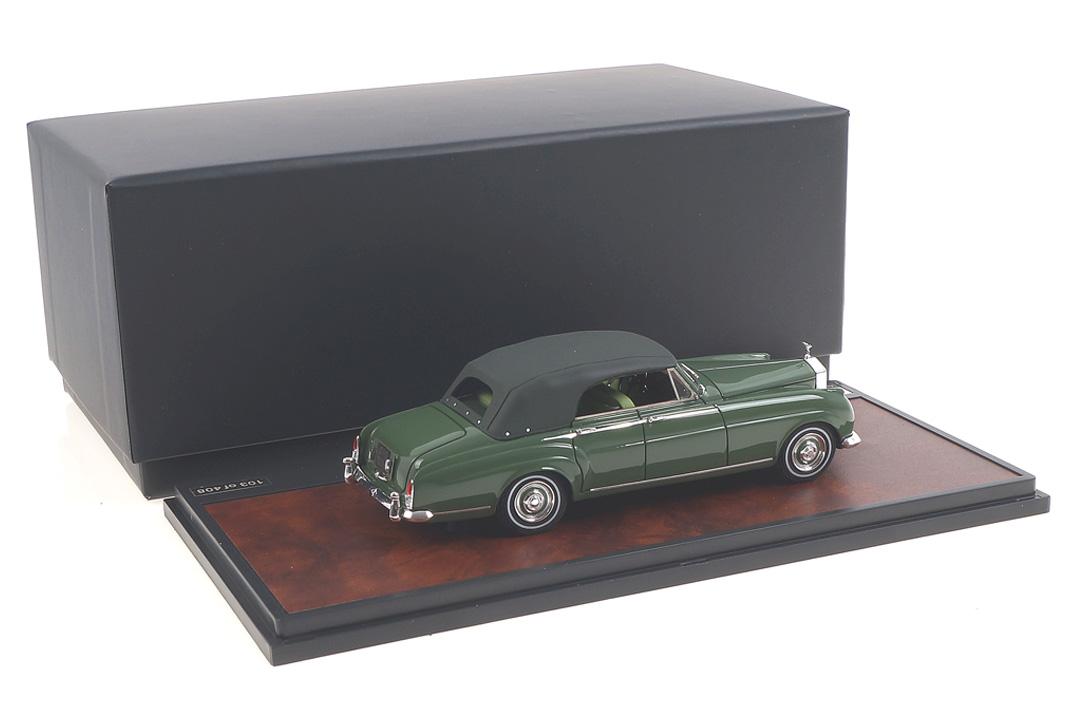 Rolls-Royce Silver Cloud H.J. Mulliner 4-door Cabriolet closed 1962 grün Matrix 1:43 MX41705-032