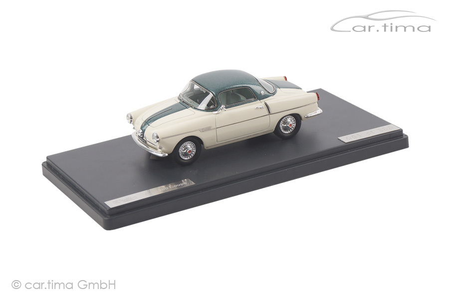 Fiat 600 Viotti Coupe creme/grün met. Matrix Scale Models 1:43 MX30602-082