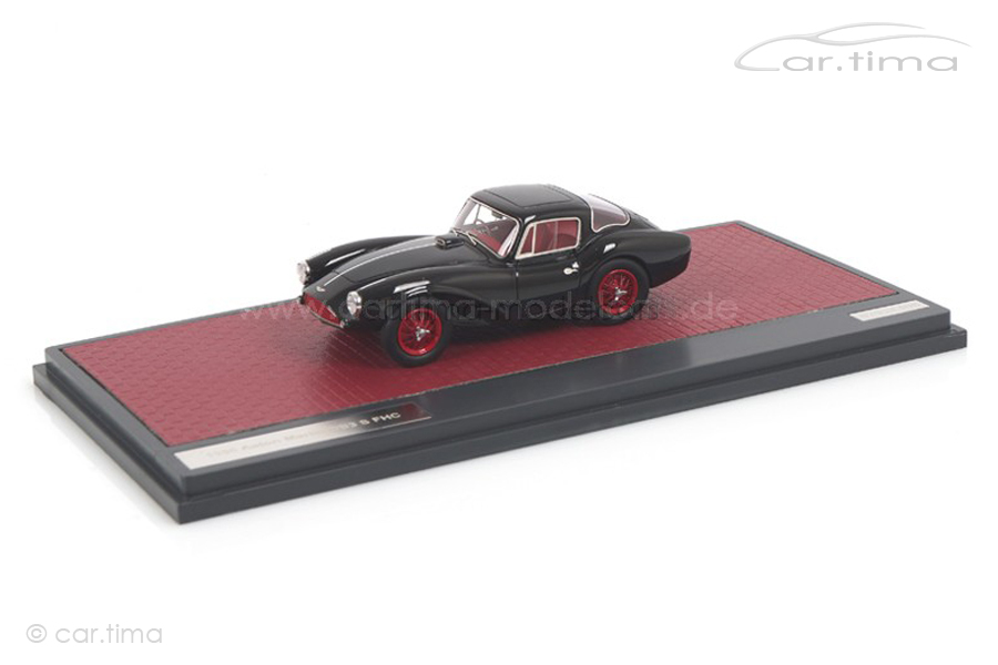 Aston Martin DB3S FHC 1956 schwarz Matrix 1:43 MX40108-072