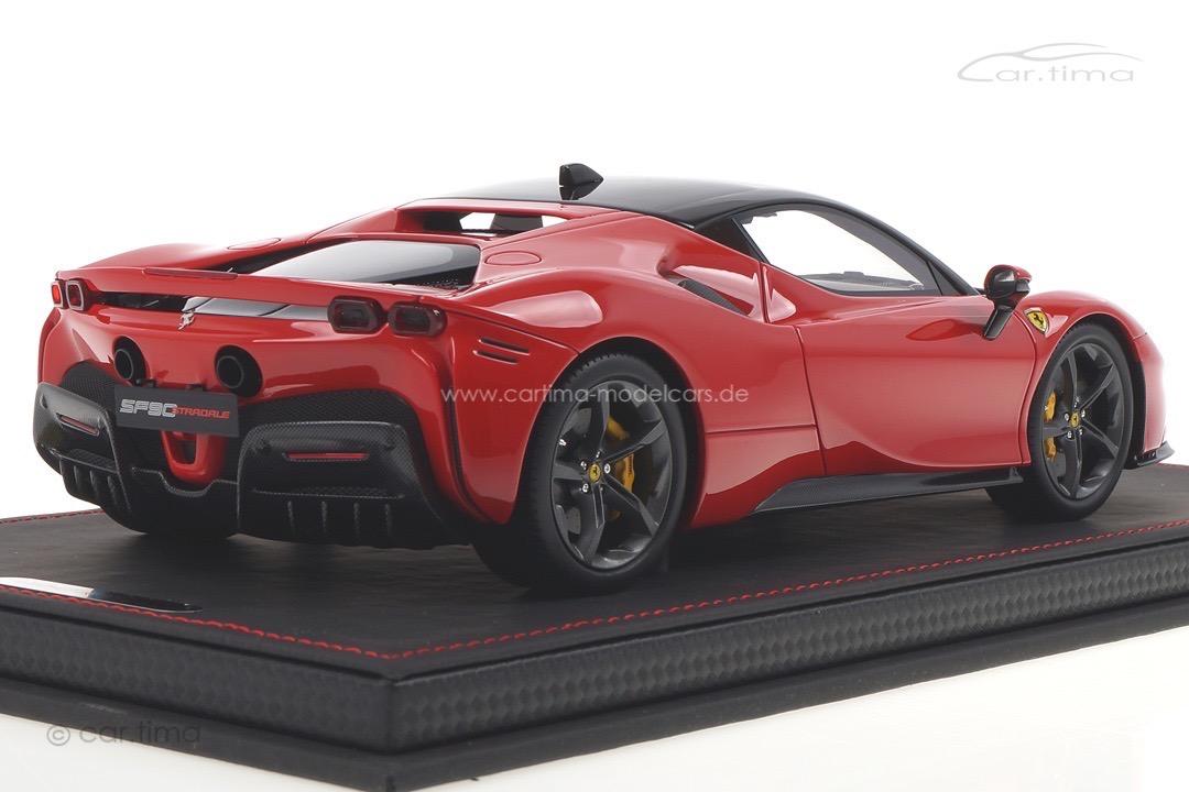 Ferrari SF90 Stradale Rosso Corsa 322 BBR 1:18 P18180A2