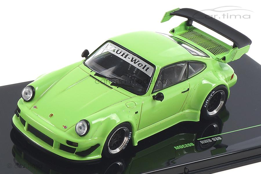 RWB auf Basis Porsche 911 (930) Turbo grün IXO 1:43 MOC208