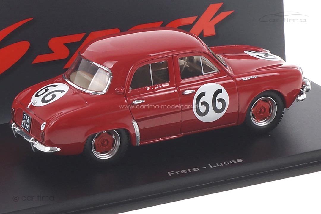 Renault Dauphine 12h Sebring 1957 Frère/Lucas Spark 1:43 S5220