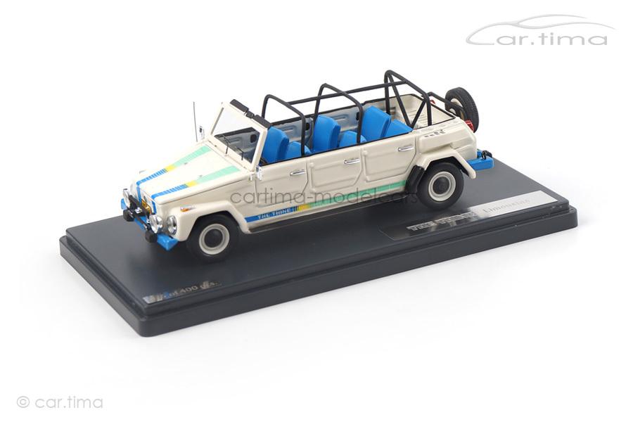 Volkswagen Thing Limousine weiß Matrix Scale Models 1:43 MX32105-051