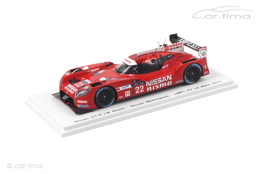 Nissan GT-R LM Nismo 24h Le Mans 2015 Buncombe/Krumm/Tincknell Spark 1:43 S4641