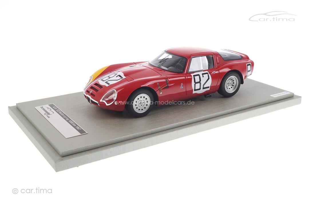 Alfa Romeo TZ2 Nürburgring 1967 Trosh/Pilette Tecnomodel 1:18 TM18-65D