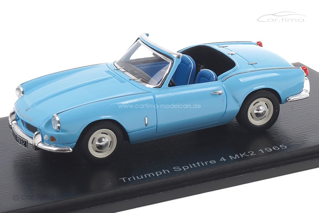 Triumph Spitfire 4 MK2 1965 blau Spark 1:43 S2472