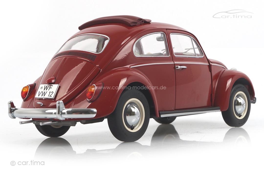 VW Volkswagen Käfer Faltdach rot Schuco 1:18 450043300
