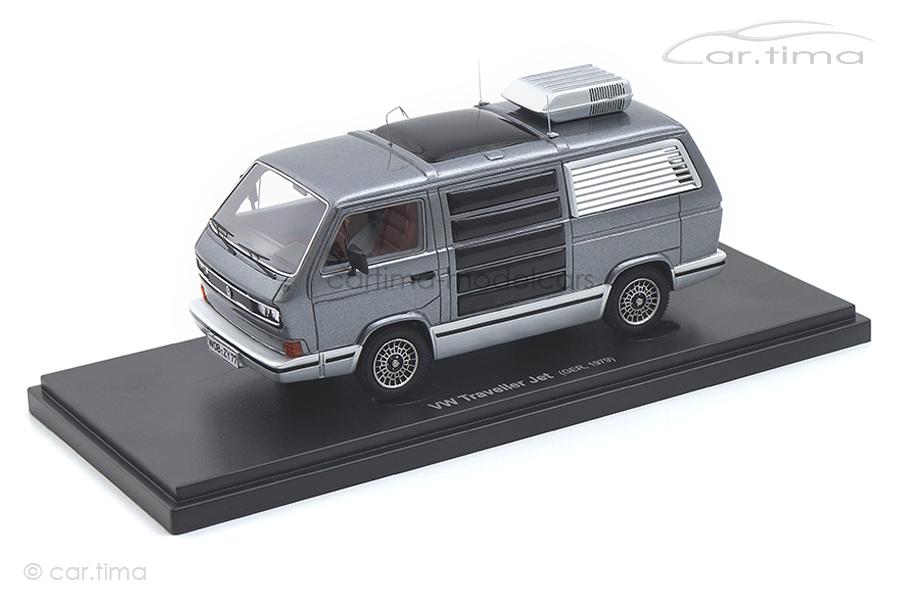 VW T3 Traveller Jet grau met. Avenue43 1:43 60015