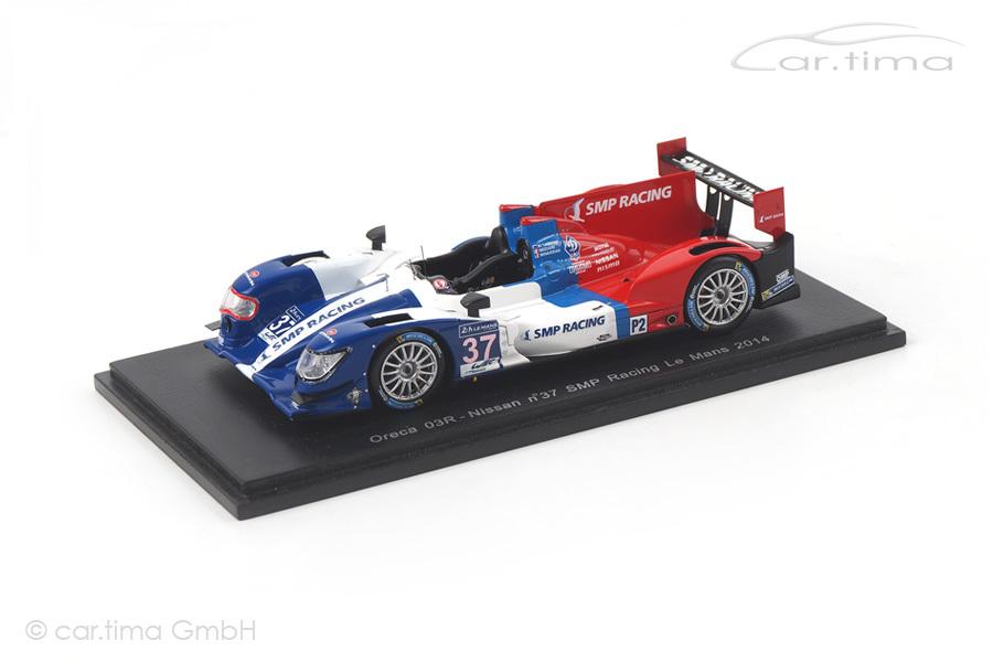 Oreca 03R-Nissan 24h Le Mans 2014 Ladygin/Minassian/Mediani Spark 1:43 S4218