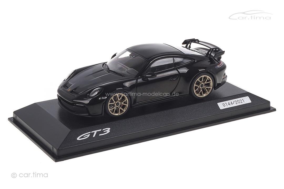 Porsche 911 (992) GT3 Tiefschwarzmet. Minichamps 1:43 WAP0201520M007