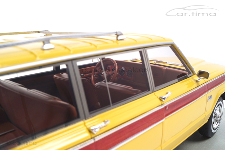 Jeep Grand Wagoneer gelb LS Collectibles 1:18 LS037D