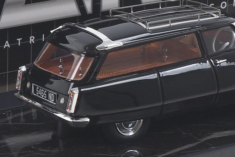 Citroen ID19 Cortege Slough Factory Hearse 1962 schwarz Matrix 1:43 MX40304-011