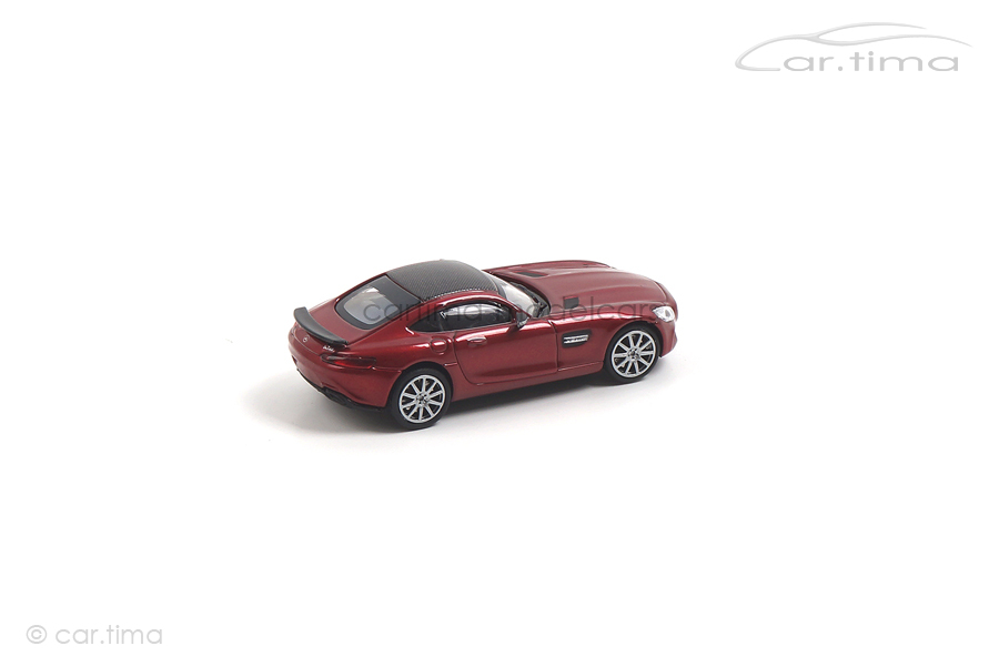 Mercedes-AMG GTS rot Minichamps 1:87 870037121
