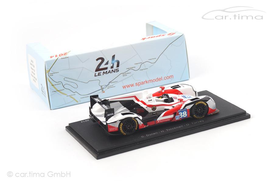 Zytek Z11SN-Nissan Winner LMP2 24h Le Mans 2014 Dolan/Tincknell/Turvey Spark 1:43 S4219