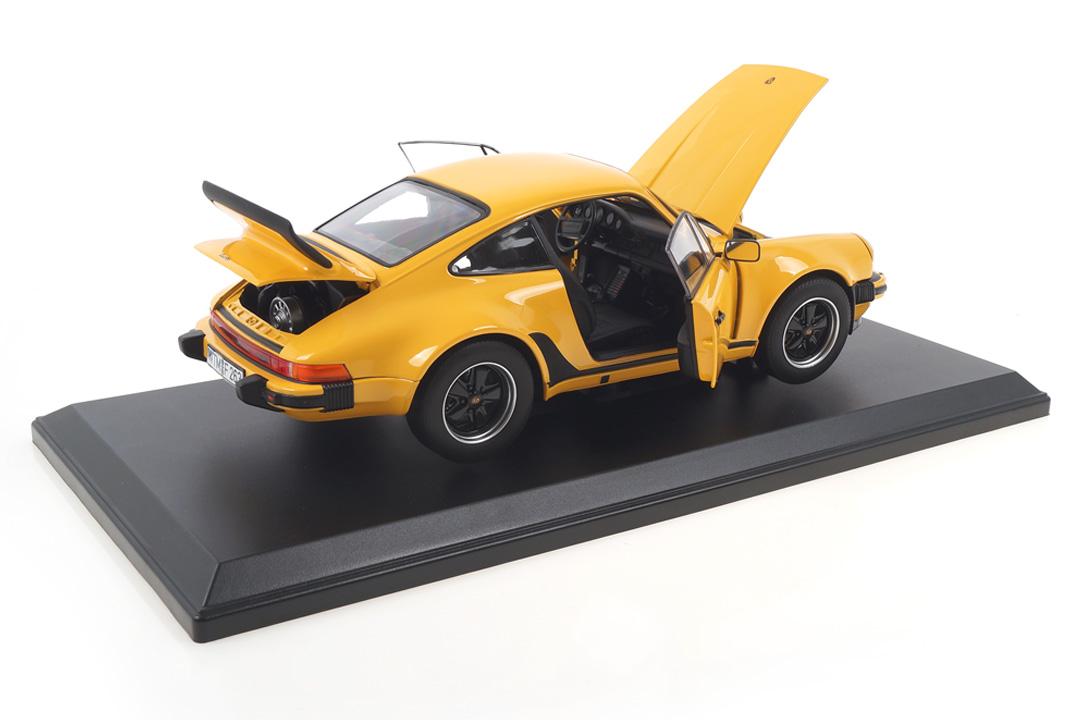 Porsche 911 (930) Turbo 3.0 1976 Talbotgelb Norev 1:18 187579