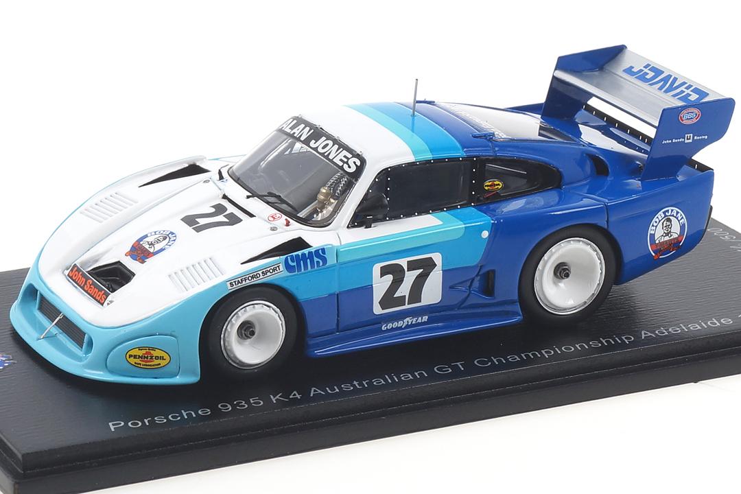 Porsche 935 K4 Adelaide 1983 Alan Jones Spark 1:43 AS051