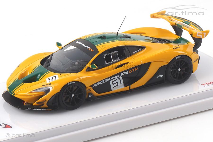 McLaren P1 GTR Automobilsalon Genf 2015 TSM 1:43 TSM164334