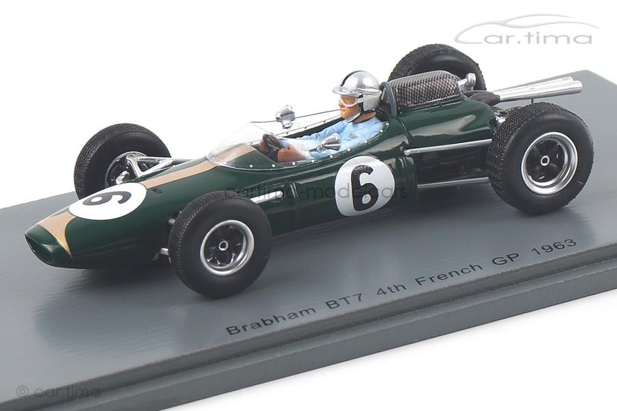 Brabham BT7 GP Frankreich 1963 Jack Brabham Spark 1:43 S5249