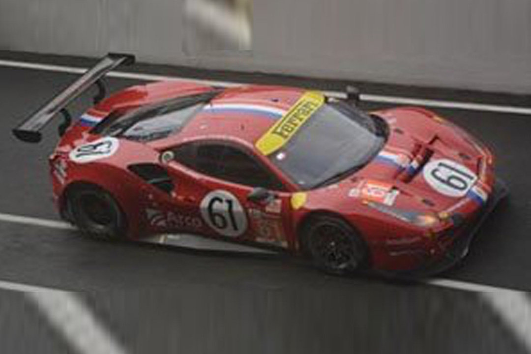 Ferrari 488 GTE Evo 24h Le Mans 2020 Ledogar/Negri Jr./Piovanetti Looksmart 1:43 LSLM113