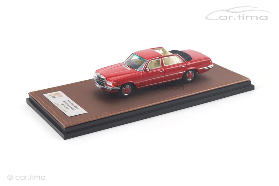 Mercedes-Benz 208 SEL W116 Landaulet rot GLM 1:43 GLM207701