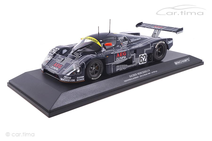 Sauber Mercedes C9 24h Le Mans 1988 Acheson/Baldi/Niedzwiedz Minichamps 1:18 155883562