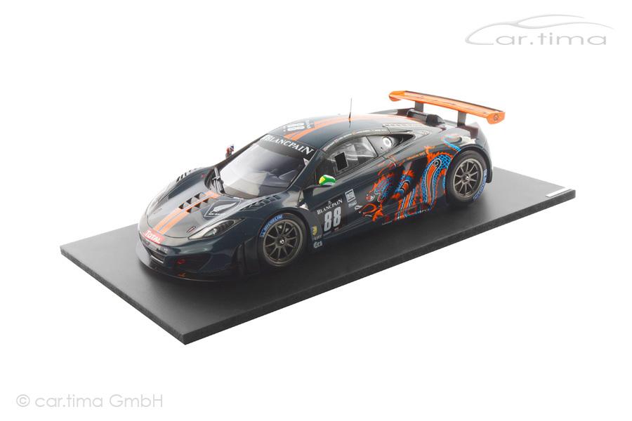 McLaren MP4-12C GT3 24h Spa 2012 TSM 1:18 TSM131815R