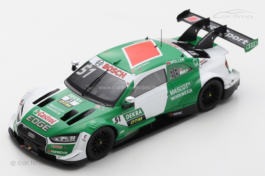 Audi RS5 DTM 2020 Nico Müller Spark 1:43 SG654