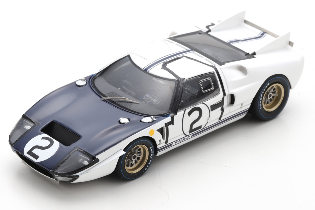 Ford GT40 MKII 24h Le Mans 1965 Amon/Hill Spark 1:43 S4533
