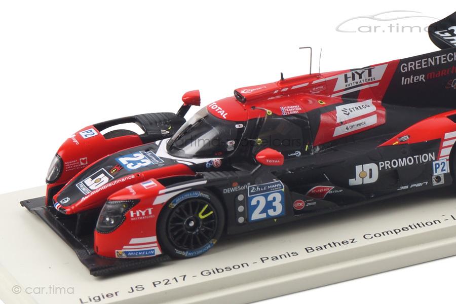 Ligier JS P217 24h Le Mans 2017 Barthez/Buret/Berthon Spark 1:43 S5810