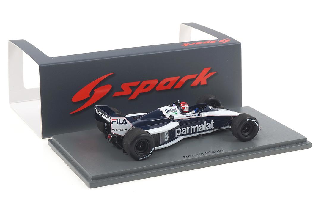 Brabham BT52B Winner Italian GP 1983 Nelson Piquet Spark 1:43 S7098