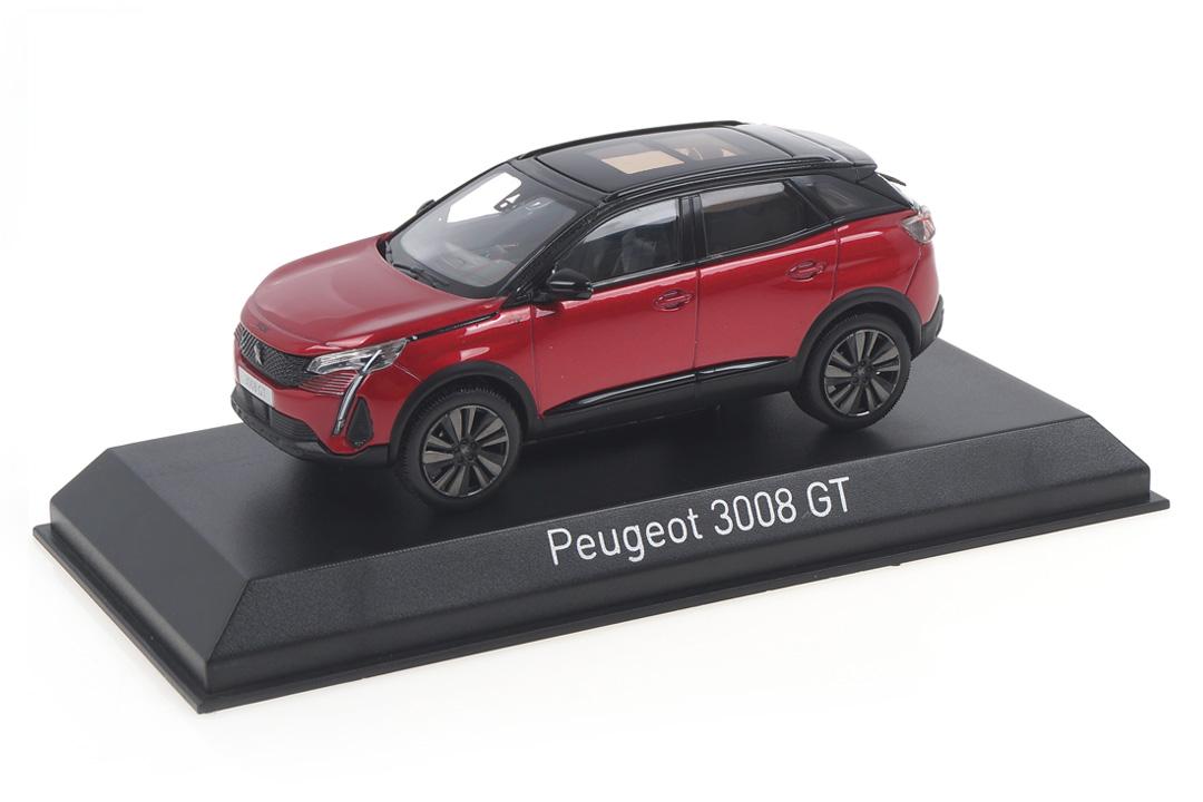 Peugeot 3008 GT 2020 Ultimate red/Black pack Norev 1:43 473922
