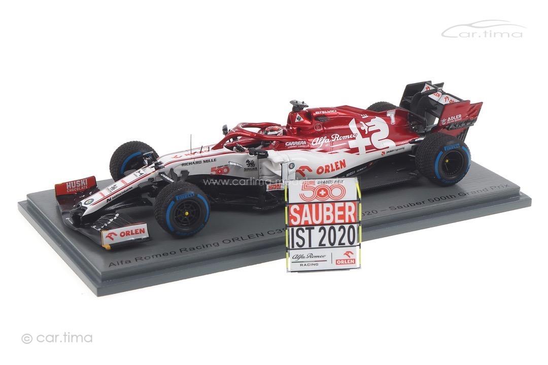 Alfa Romeo Racing C39 GP Türkei 2020 Kimi Räikkönen Spark 1:43 S6492