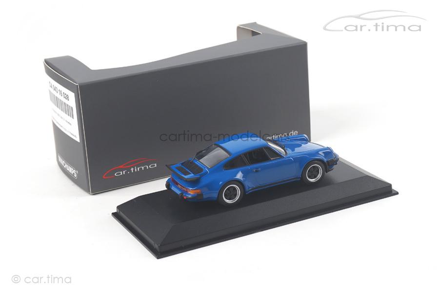 Porsche 911 (930) Turbo 3.0 Arrowblau Minichamps car.tima EXCLUSIVE 1:43 CA04316028